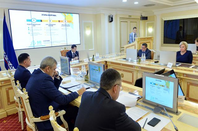 Губернатор Ямала Дмитрий Артюхов провел заседание правительства