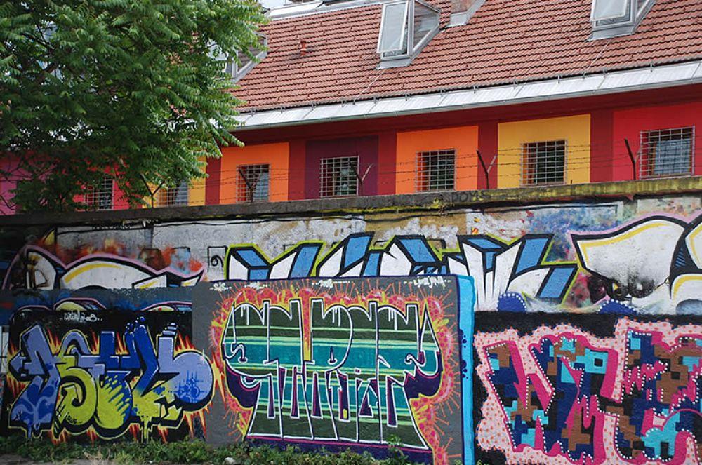 Celica, Любляна. Здание бывшей военной тюрьмы в 2000-х годах переделали под хостел около 80 художников со всего мира, сделав его одним из самых интересных мест для ночлега в Словении.