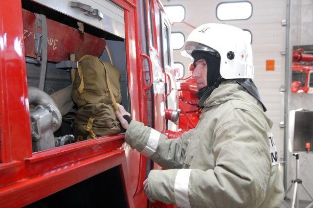 Пожарные быстро ликвидировали пожар.