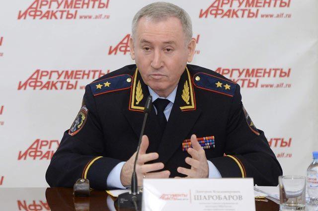 Начальник Главного управления на транспорте МВД России генерал-лейтенант полиции Дмитрий Шаробаров.