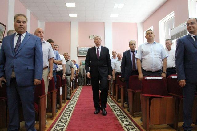 Вступление главы Усть-Лабинского района в должность.