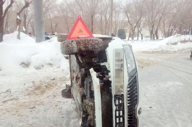 УМВД: подробности ДТП в Оренбурге на проспекте Победы