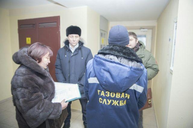 В Салехарде начался обход домов с централизованным газоснабжением