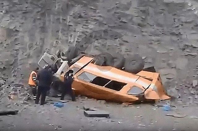 Несчастный случай произошел на технологической дороге на территории разреза.