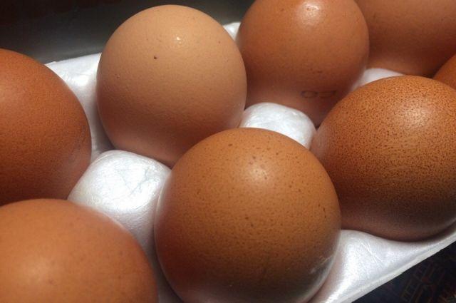 Цена на яйца упала ещё на 2,8%.