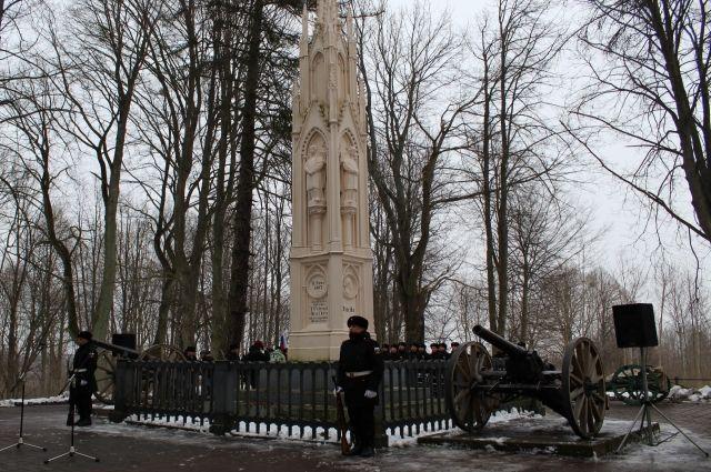 В Багратионовске отметили 212-ю годовщину сражения при Прейсиш-Эйлау