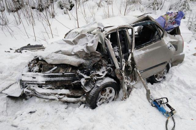ДТП произошло 8 февраля в 08.15 на автодороге Пермь-Березники