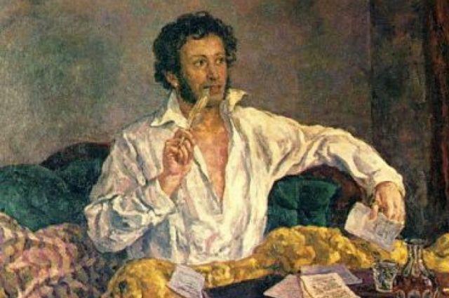 В своим письмах пушкин просил жену