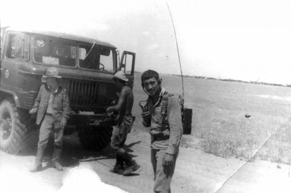 Евгений Анатольевич Цокур, провинция Кундуз, весна 1981 года.