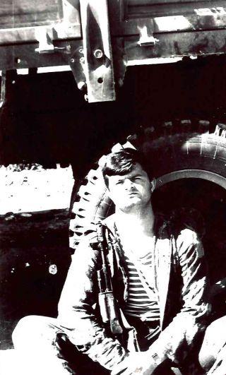 Старший лейтенант Александр Васильевич Куцов, город Хайратон, 1986-1987 годы.