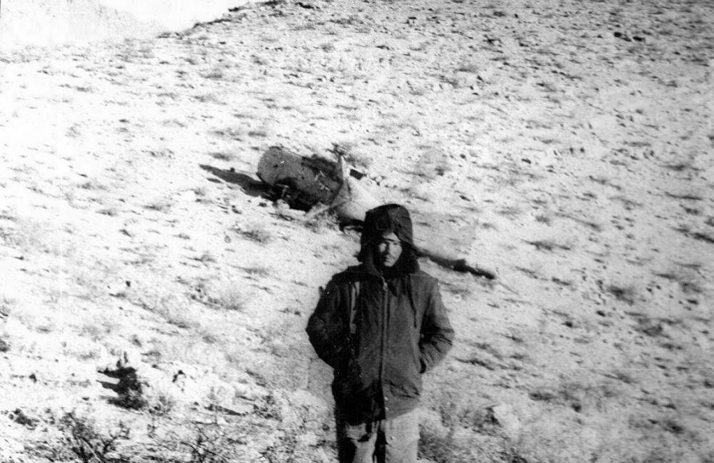Андрей Викторович Черномуров, провинция Гильменд, октябрь 1985 год.
