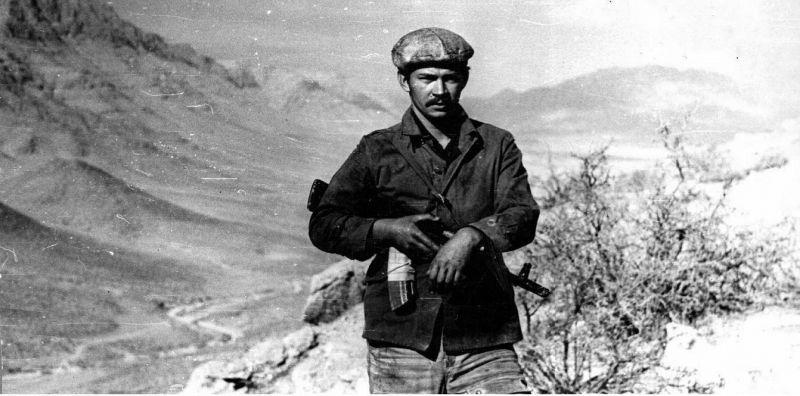 Андрей Викторович Черномуров, провинция Гильменд, 1985 год.