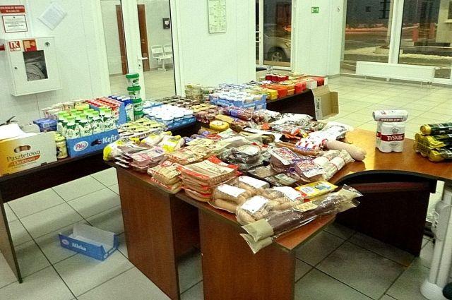 На таможне в Мамоново задержали партию санкционных продуктов