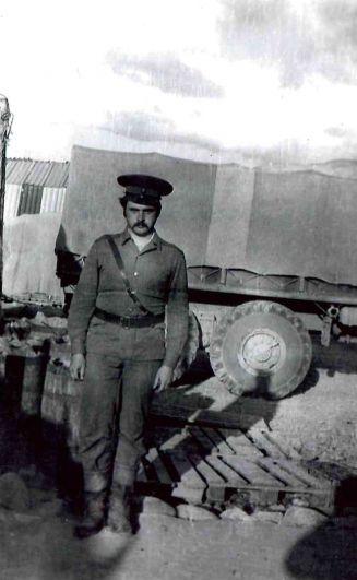 Старший лейтенант Александр Владимирович Лукин, город Пули-Хумри, 1980-1982 годы.