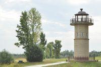 С башни «Птичья гавань» видна как на ладони.