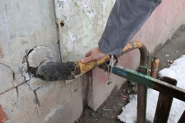 Проект на ремонт газовых труб подготовили, но капремонт так и не проведён.