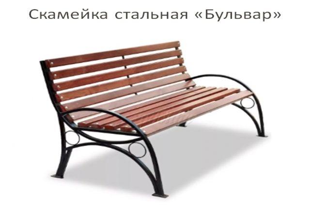 Надымчане выбирают вид скамеек, которые летом установят во дворах города