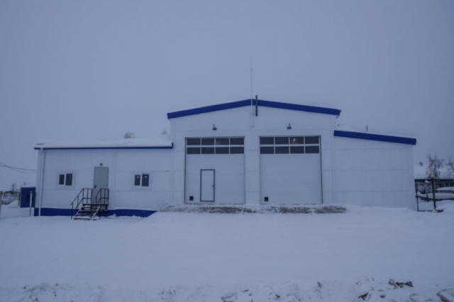 В Катравоже открыли новое здание пожарного депо