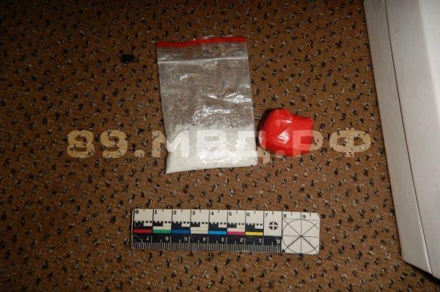 У постояльцев гостиницы Губкинского обнаружили крупную партию наркотиков