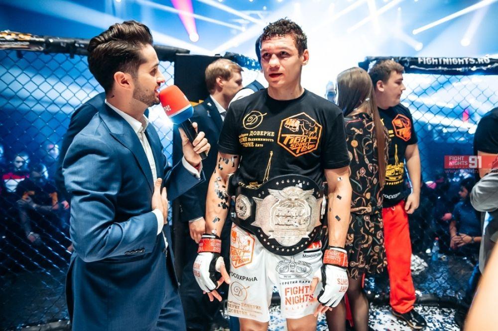 Действующий чемпион Fight Nights Global.