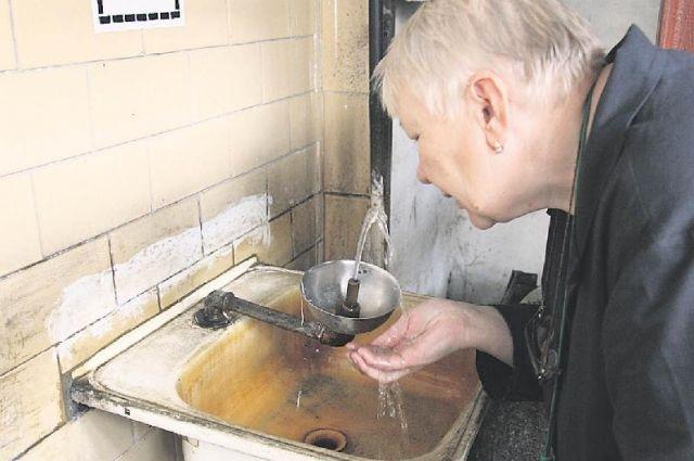 Из кранов через год потечёт чистая безопасная вода.