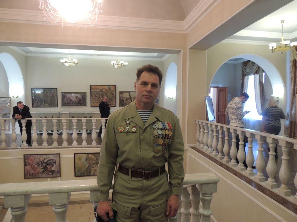 Олег Нагимов, воин-афганец, участвует в конкурсе с 2015 года.
