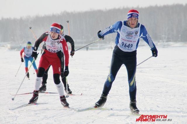 В Оренбурге выпустили специальный штемпель и почтовую карточку, посвященные массовому спортивному мероприятию «Лыжня России».