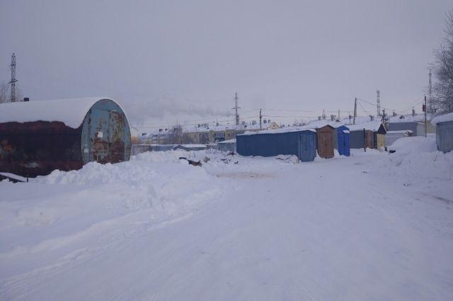 В Ноябрьске с 15 февраля приступят к сносу гаражей в мкр «Оболонь»