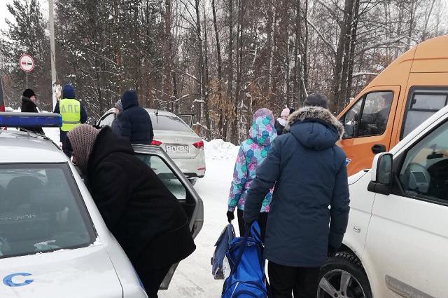 Водители помогли пассажирам замерзшего автобуса
