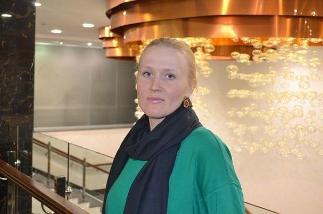 Тобольский театр принял цикл творческих встреч актрисы Марины Некрасовой