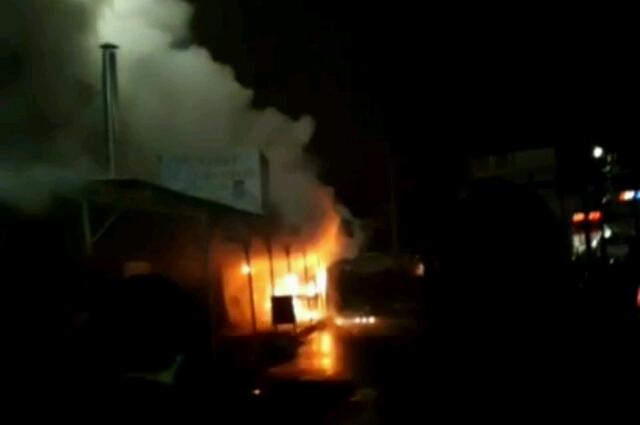 Возгорание произошло в Комсомольском районе.