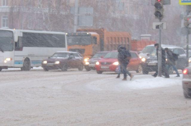 Высота снежного покрова увеличилась с 42 до 62 см.