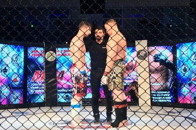 В Салехарде состоялся финал турнира по MMA на приз Главы города