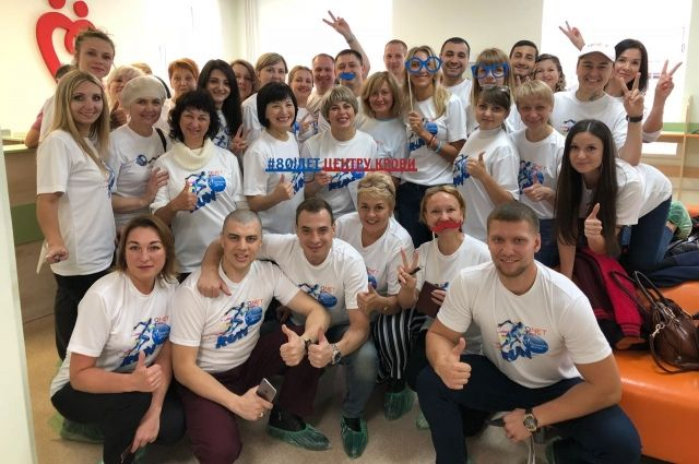 Сотрудники компании приняли участие в донорской акции.