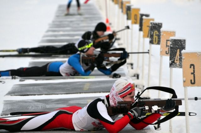 Тюменские биатлонисты привезли десять медалей из Екатеринбурга