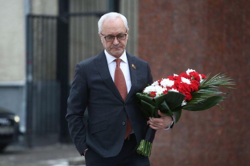 Председатель комиссии Мосгордумы по культуре, актер Евгений Герасимов.