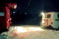 Пациент с инсультом два часа лежал в «скорой» из-за снега на дороге