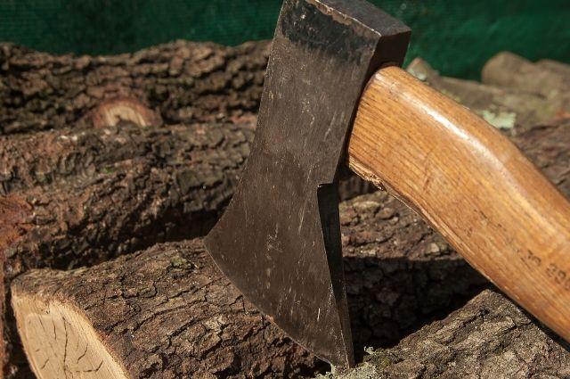 В Омской области мужчина с ножом и топором разбил чужую машину