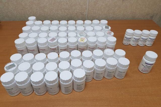 В Оренбуржье завершено расследования дела о контрабанде лекарств на 2 млн