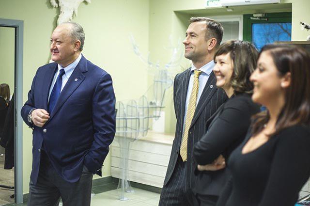 Виктор Илюхин в новом визит-центре Камчатки.