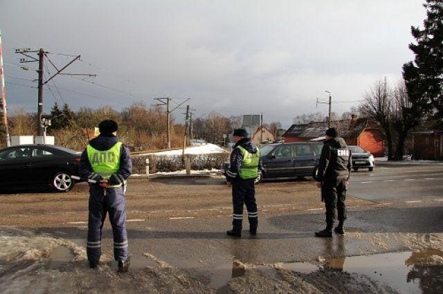 В калининградской области автоинспекторы выявляли водителей-должников