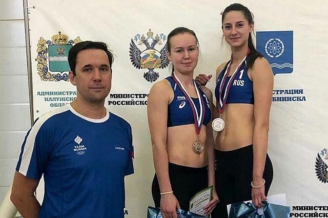 Елена Федюнова и Елизавета Лудкова заняли второе место на Кубке России по пляжному волейболу.