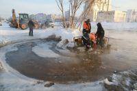Коммунальная авария на ул. Малахова