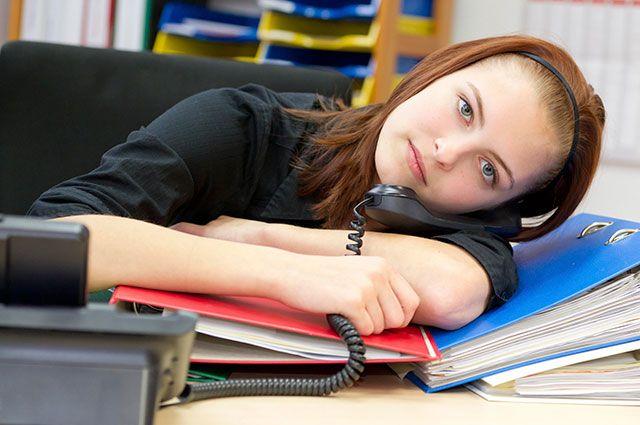 девушка устала на работе как поддержать