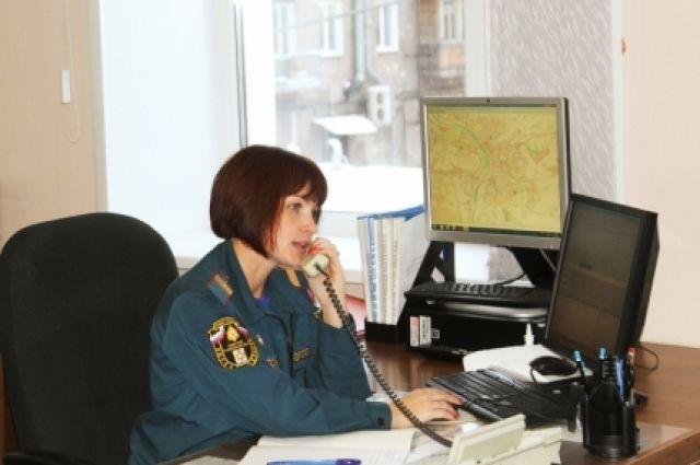 Омские огнеборцы во время пожара в Горьковском районе спасли шесть человек