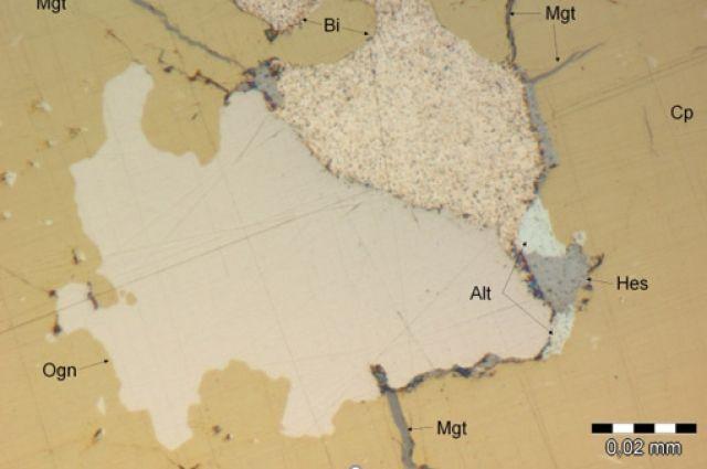 Карта, местности, где нашли новый минерал.
