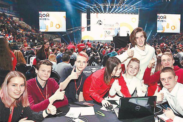 Первый молодёжный форум «Молодой предприниматель Москвы» собрал 10 тыс. школьников и студентов самых разных вузов и колледжей столицы.