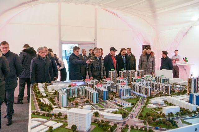 Главы субъектов РФ обменяются мнениями по вопросам улучшения жилищных условий населения и формированию благоприятной городской среды.