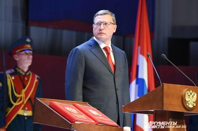 Бурков занял третье место в рейтинге губернаторов в январе