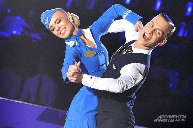 Дмитрий Плешков и Анастасия Кульбеда, «Let`s fly».